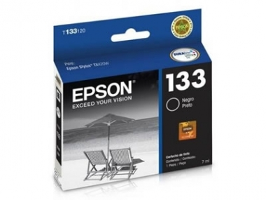 CARTUCHOS EPSON 133 NEGRO TX320/TX420 X UNIDAD