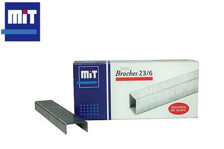 BROCHES MIT 23/6 X 1000 UNIDADES