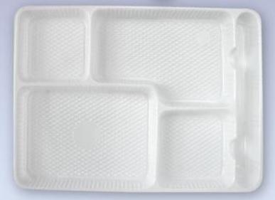 BANDEJAS PLASTICAS 4 DIVISION C/ CUBERTERA X 300